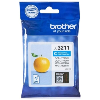 Tinte Brother LC-3211C cyan