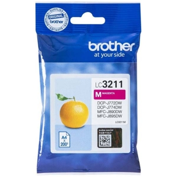 Tinte Brother LC-3211M magenta