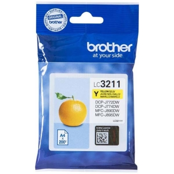 Tinte Brother LC-3211Y yellow