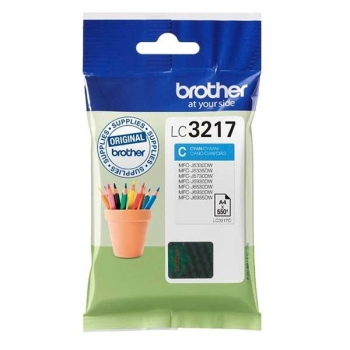 Tinte Brother LC-3217C cyan