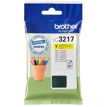 Tinte Brother LC-3217Y yellow