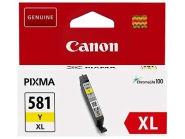 Tinte Canon CLI-581Y XL yellow