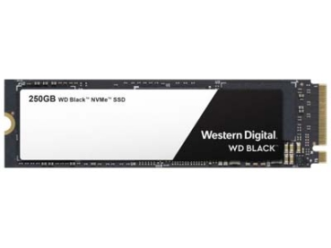 HD M.2 SSD WD Black 250GB