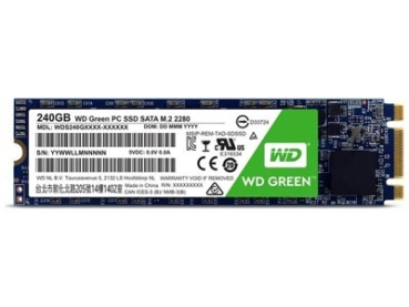 HD M.2 SSD WD Green 240GB